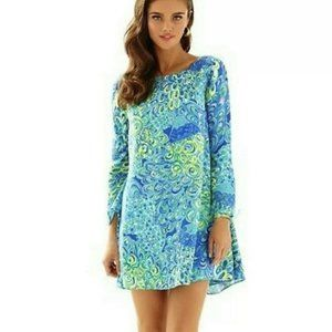 Lilly Pulitzer Lilly's Lagoon Colette Swing Dress